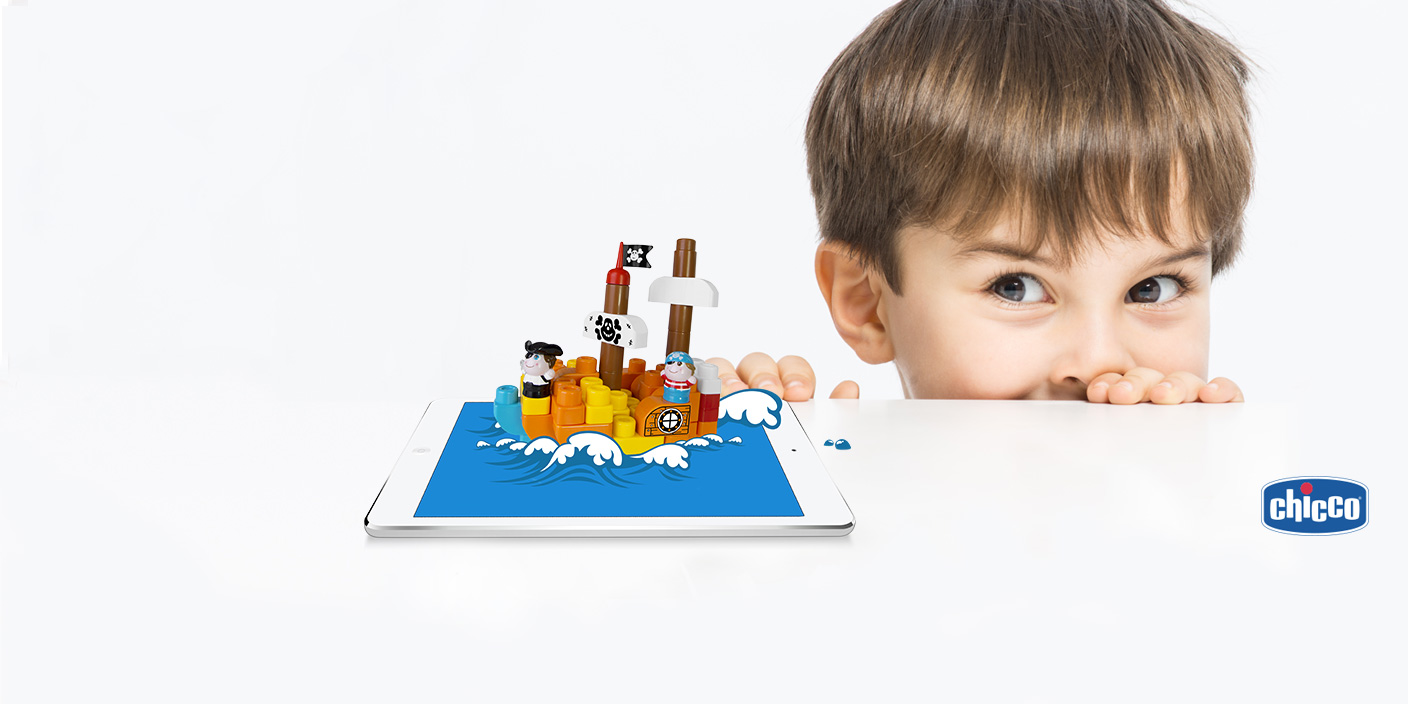 Forge Reply partners with Chicco to develop the Toy Blocks app, the first set of applications in the Toys App series which aim to transform traditional games into a genuine digital experience 0