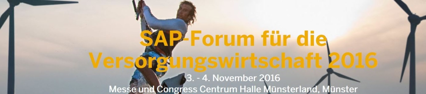 sap forum utilities industry 2016