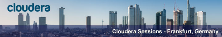 Cloudera Sessions Frankfurt