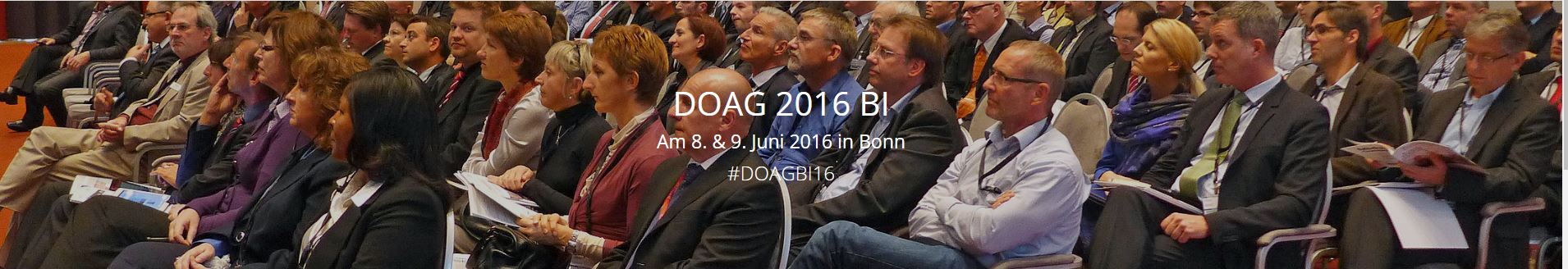 DOAG Business Intelligence 2016