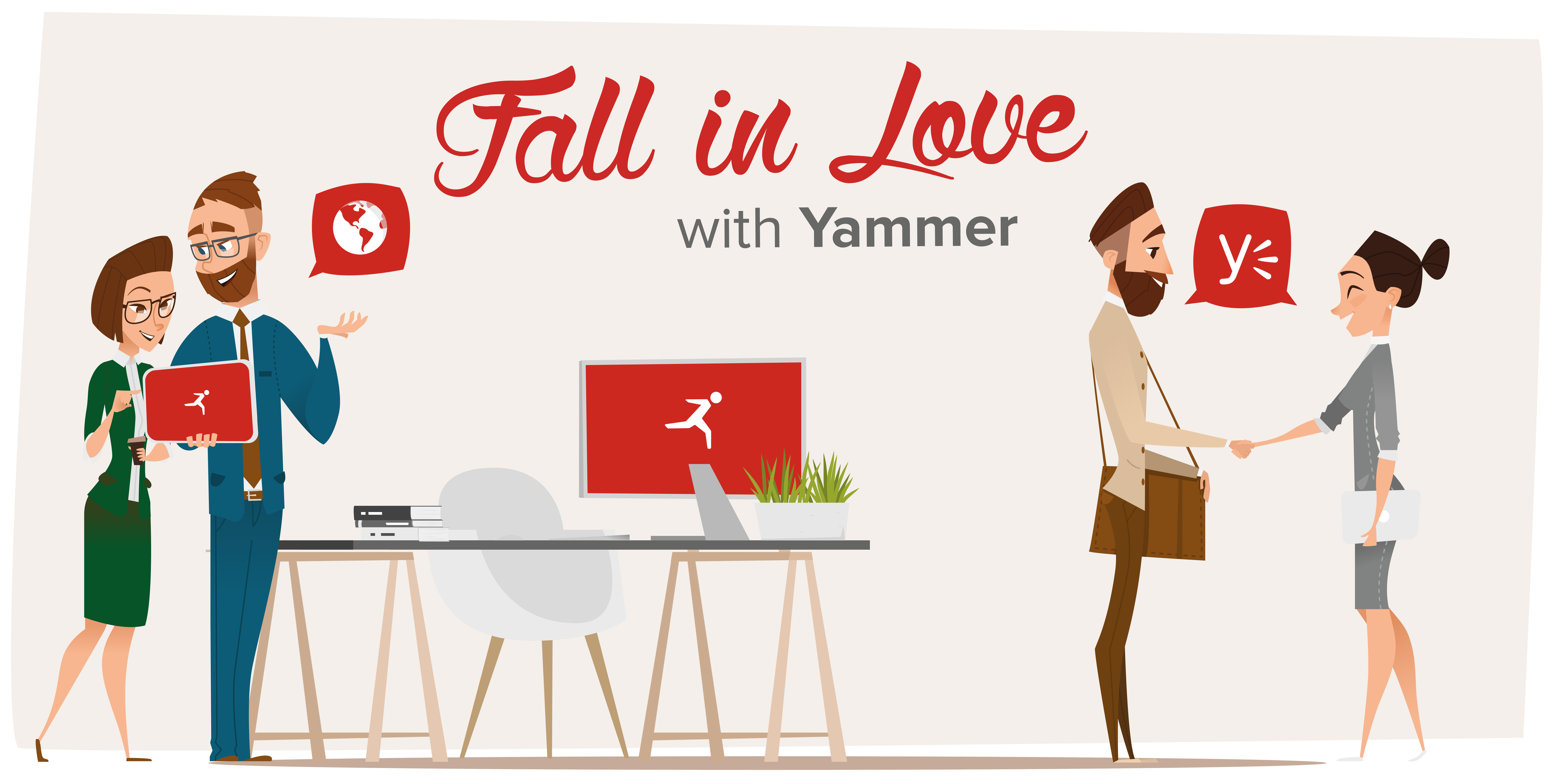 fall in love with yammer