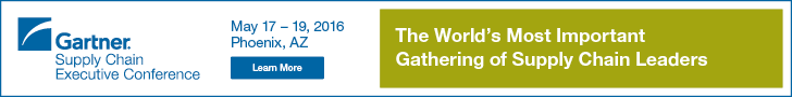 Gartner Supply Chain Executive Conference