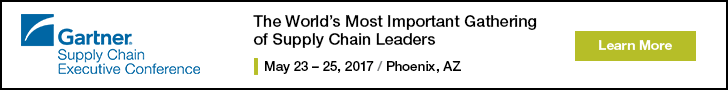 Gartner Supply Chain Executive Conference 2017