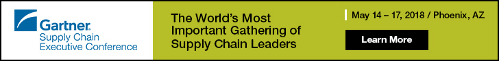 Gartner Supply Chain Executive Conference 2018